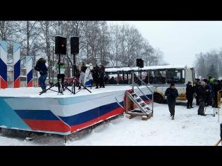 Фестиваль ледяных фигур году кино в Череповце