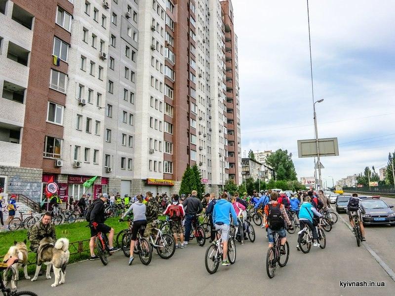 Велодень 2015 Киев