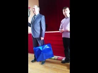 Речь Раисы Набиевой, Мэра Войтюка А.П. Руководитель общества слепых среди молодежи Исачков А.С. и Саулина Т.А.