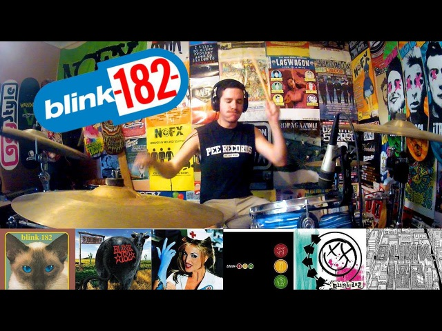 Blink-182: A 5 Minute Drum Chronology - Kye Smith [HD]
