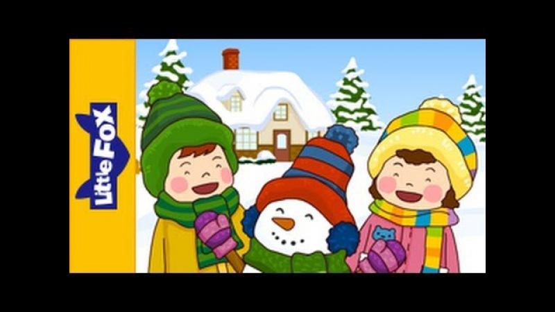 Build a Snowman | Nursery Rhymes by Little Fox