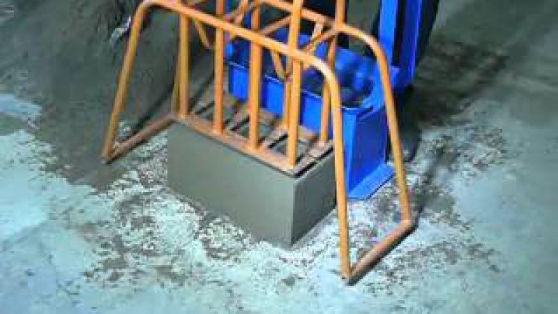 Шлакоблочный станок Pauk станок для производства строительный блоков