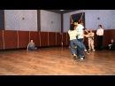 Class colgada, adornos, sacadas y giro. Dana Frigoli y Adrian Ferreyra. Nevskaya milonga 2011.