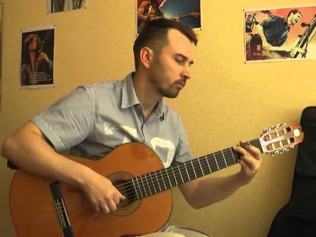 Маргарита - В.Д`ркин (кавер на гитаре В.Трощинков)