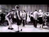 Реальный 1950 х годов рок н ролл, рокабилли танец линди хоп !  xvid