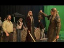 Thranduil Behind The Scenes - The Hobbit The Desolation of Smaug