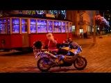 Собака байкер Стич поздравляет всех-всех-всех с Новым Годом ))))