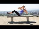5 минутная тренировка с собственным весом на скамье 5 Minute Bodyweight Workout on a Bench Class FitSugar