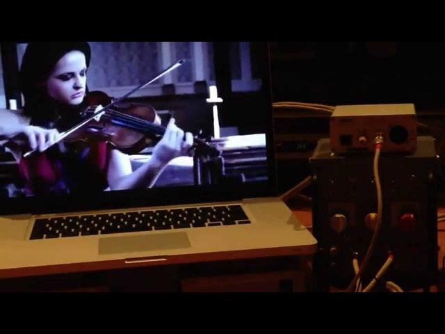 (APOGEE DA-1000) performance test 12b(平衡), Lana Trotovsek - J.S. Bach, Siciliano from Sonata No.1 in G minor BWV 1001