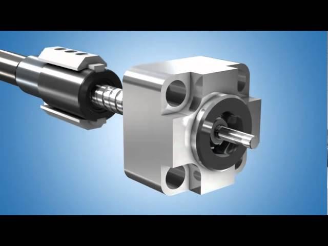 Электромеханический цилиндр актуатор Bosch Rexroth
