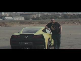 Навал от Давидыча. Chevrolet Corvette С7. Оторванная крыша.
