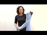 Как красиво завязать шарф или палантин - 8 способов завязать шарф