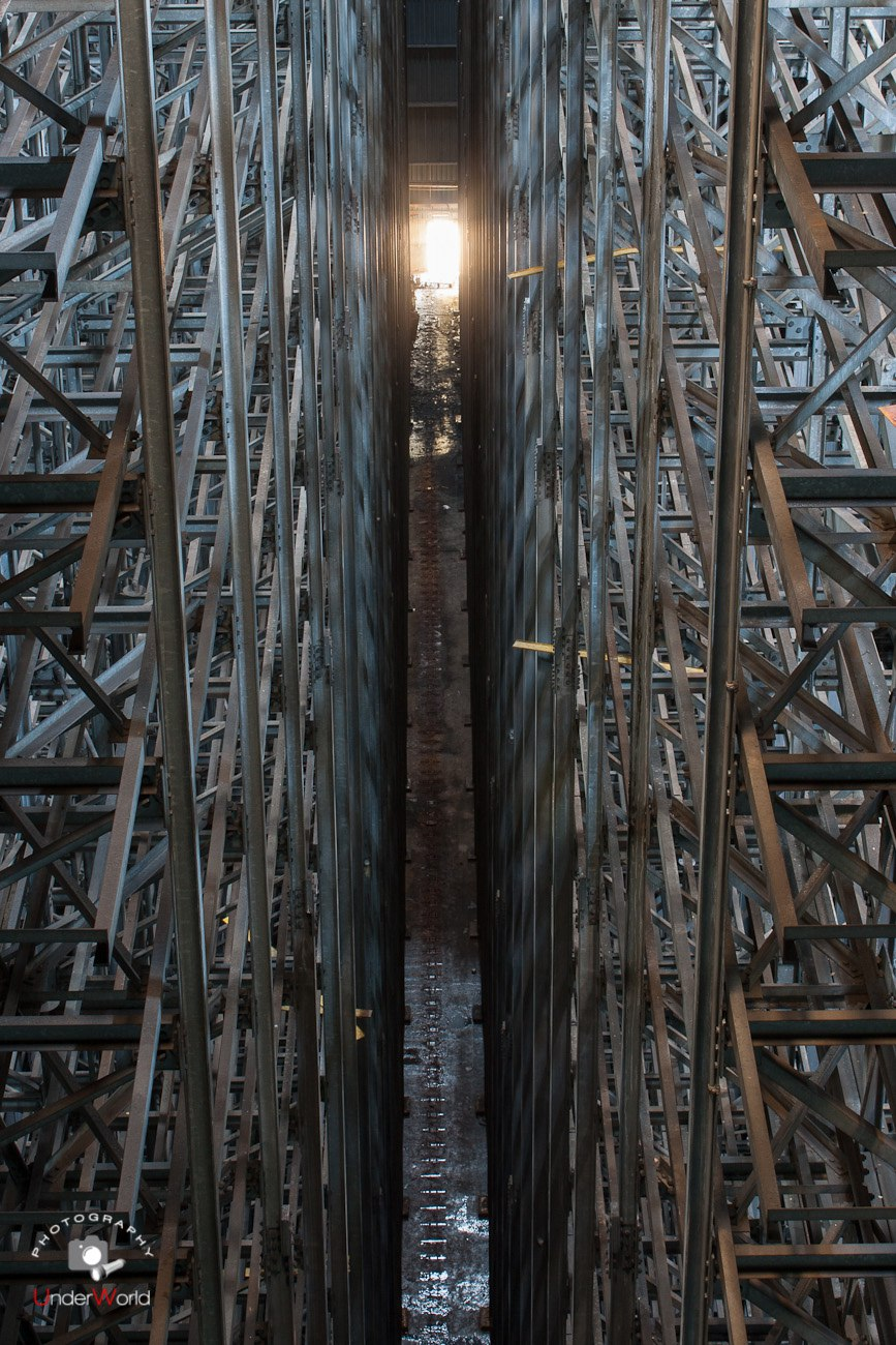 Завод имени Лихачева ЗИЛ. Высотный склад