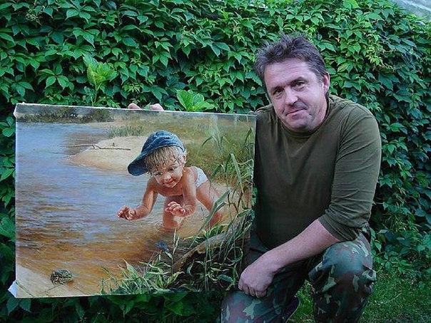 Потрясающие картины от художника Леоновича В.Н.!