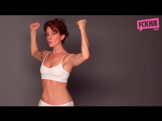 Feminists vs. Photoshop_ Real Women Stand In Their Underwear to Stand Up to Sexist Beauty Standards