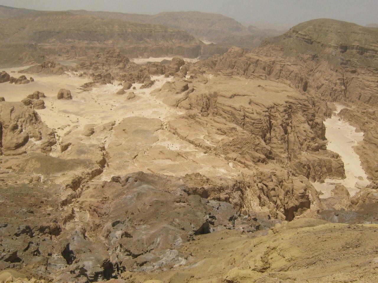 """Т.н. """"Белая пустыня"""" на Синайском полуострове"""