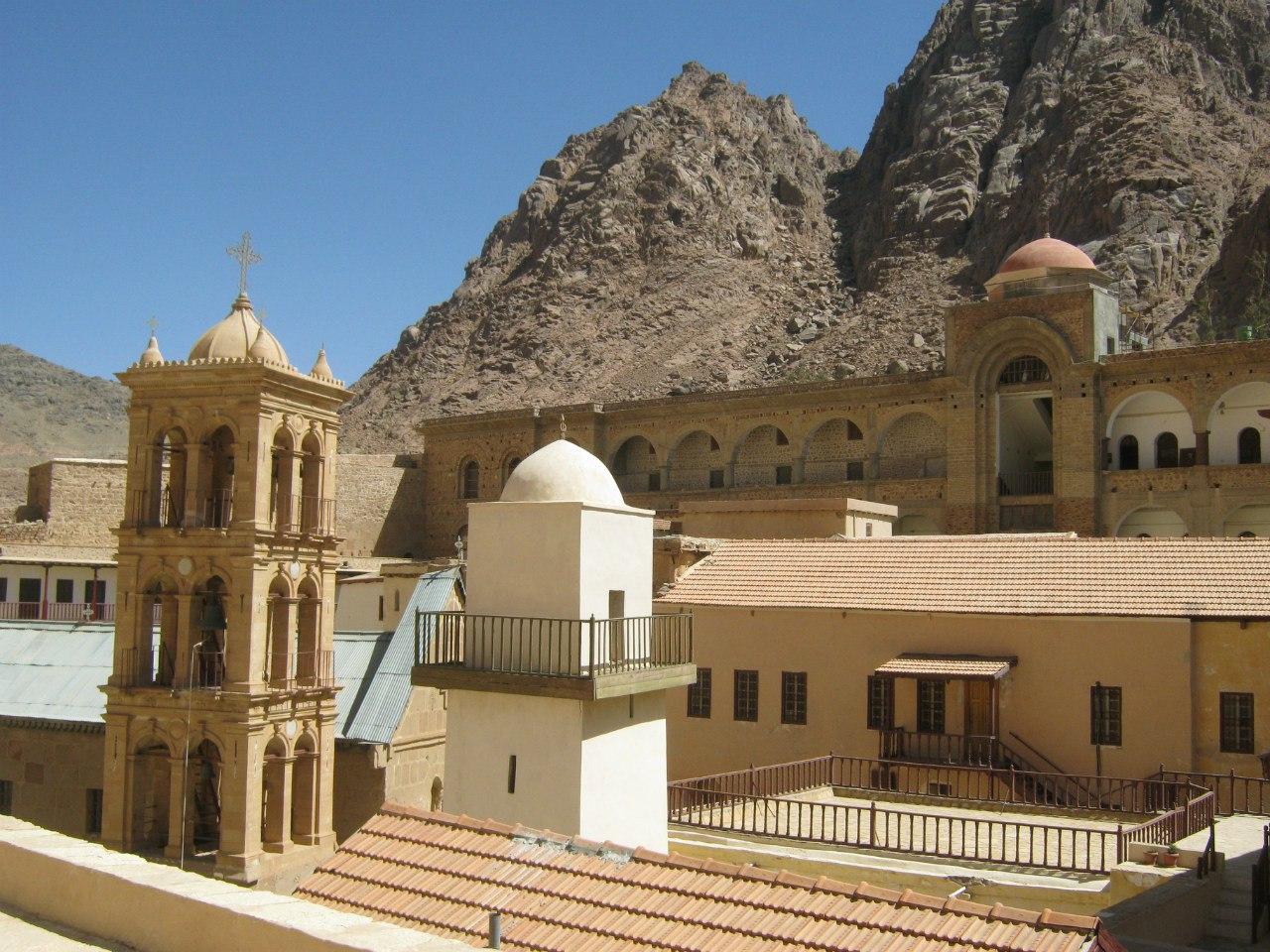 мечеть в монастыре Святой Катерины