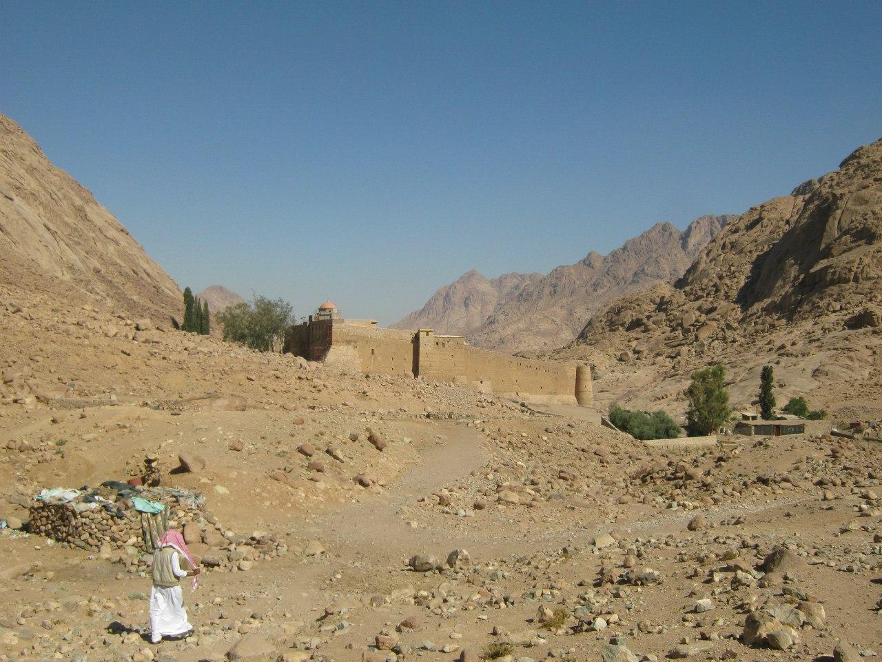 Тропана гору Моисея