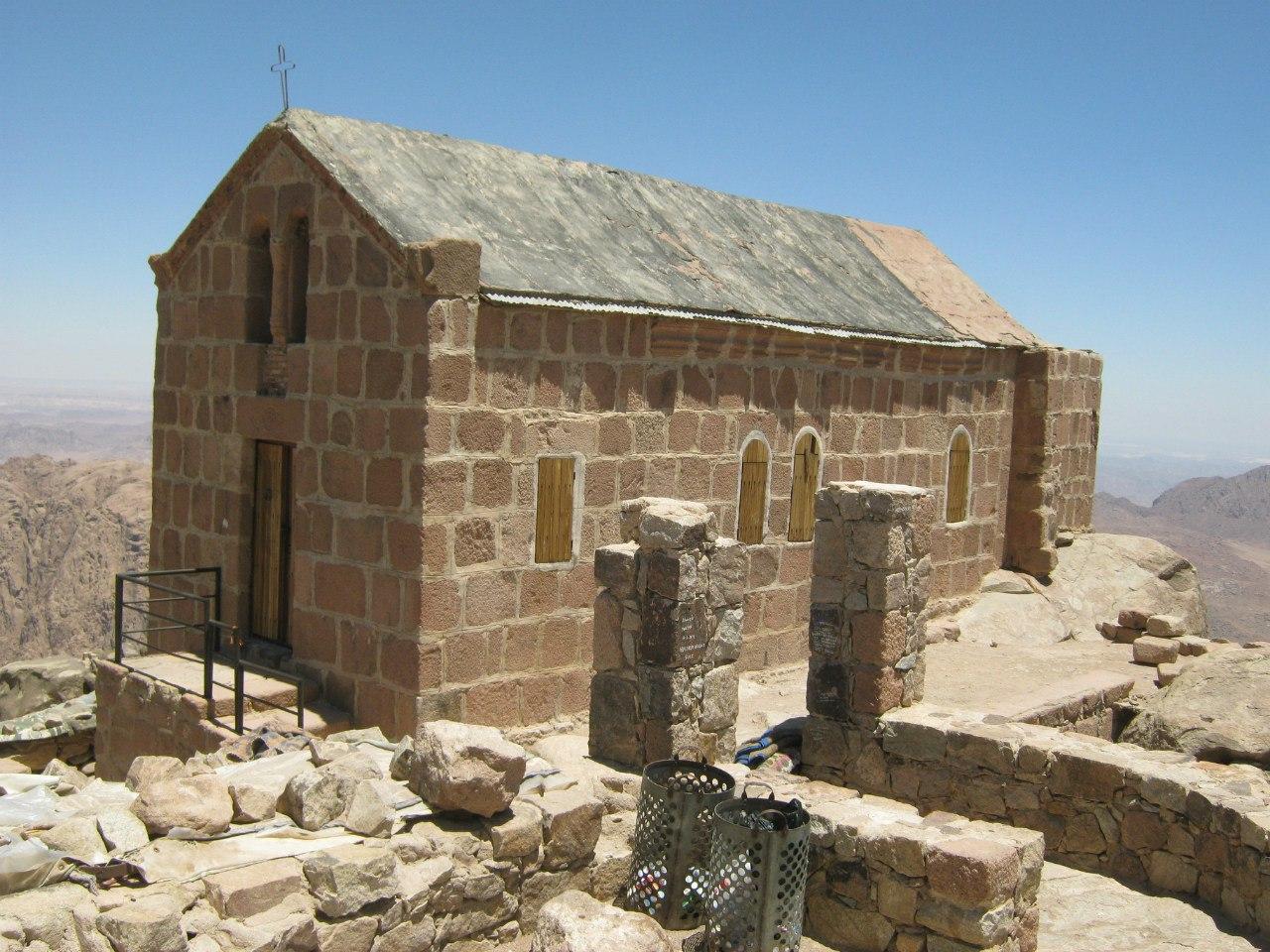Церковь на горе Моисея