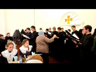 Выступление хоров ВПДС,межъепархиального училища и СПДС на праздник Покрова Пресвятой Богородицы в г.Смоленске.