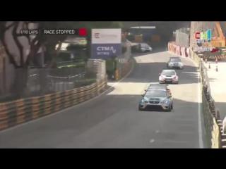 Крупная авария на гонке в Макао
