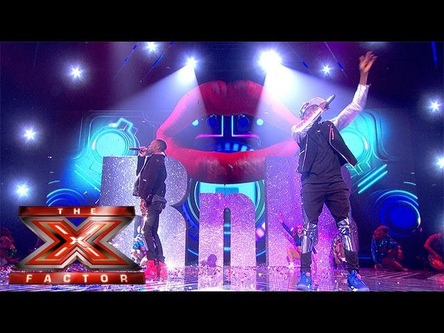 Mash it up… boom! Reggie 'N' Bollie spice up the Final | The Final | The X Factor 2015