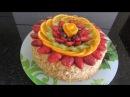 Украшение торта фруктами clip dạy cách trang trí bánh kem rất đơn giản | công thức làm bánh kem