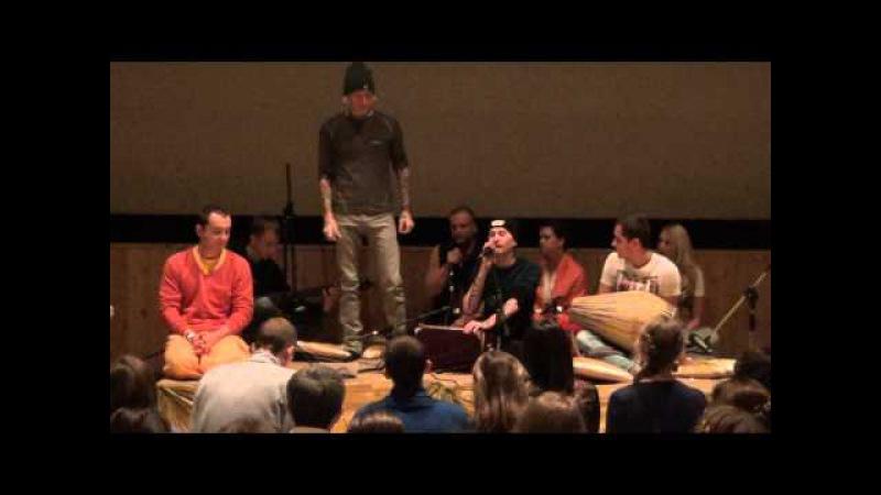 Пьер Эдель.Ом Намо Бхагавате Васудевая и Ом Намо Нараяна - Mantra Yoga - 28.11.2014