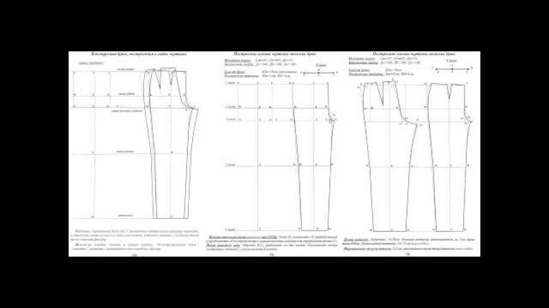 2 урок Особенности в построении брюк