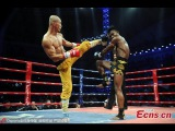Лучшие нокауты Yi Long'а! Он бешенный шаолинец!Китайский Дракон.The best knockouts!