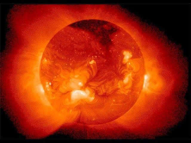 Чистилище находится в плазме Солнца. Ад и рай в космической бездне.