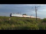 Электровоз ЭП1М-420 с поездом №326С Новороссийск - Пермь