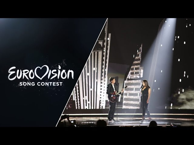 Elina Born Stig Rästa - Goodbye To Yesterday (Estonia) - LIVE at Eurovision 2015 Grand Final