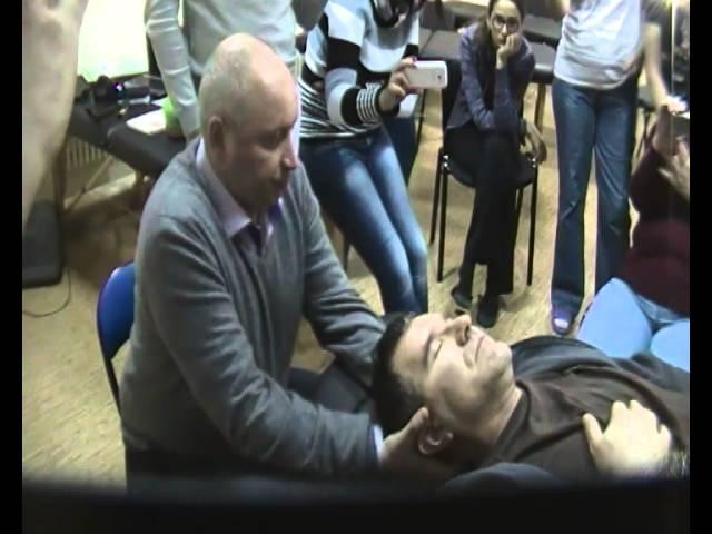 Краниосакральная терапия.1 уровень. Шарапов К.В. Остеопатия Украина.