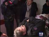 Ляшко сопровождает Мосийчука из больницы скорой помощи в институт Шалимова
