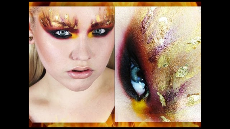 The Hunger Games: ''The Girl on Fire'' Inspired Makeup Tutorial