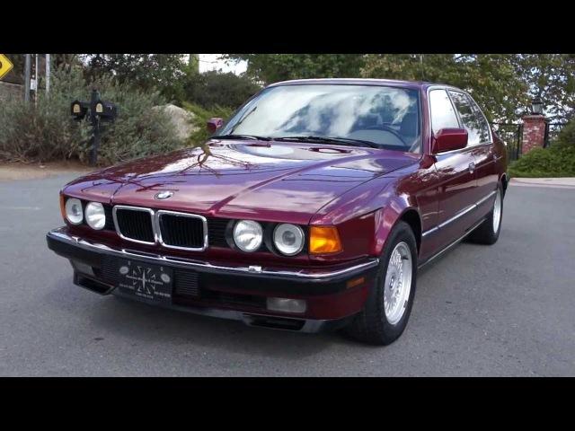 BMW 740IL E32 E38 V8 750IL 740i 1 Owner 52,000 Original mile 1 Owner Car Guy