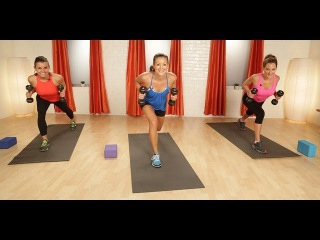 10-Minute Inner Thigh and Triceps Workout   Strength Training   Class FitSugar