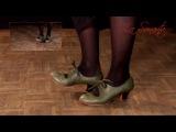 Free Flamenco dance lesson 1 Zapateado por tango