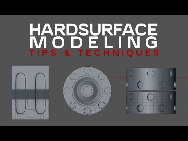 HardSurface Modeling Tips and Techniques in Cinema4D