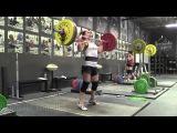 63kg Ladies Clean & Jerk Duel at Catalyst Athletics
