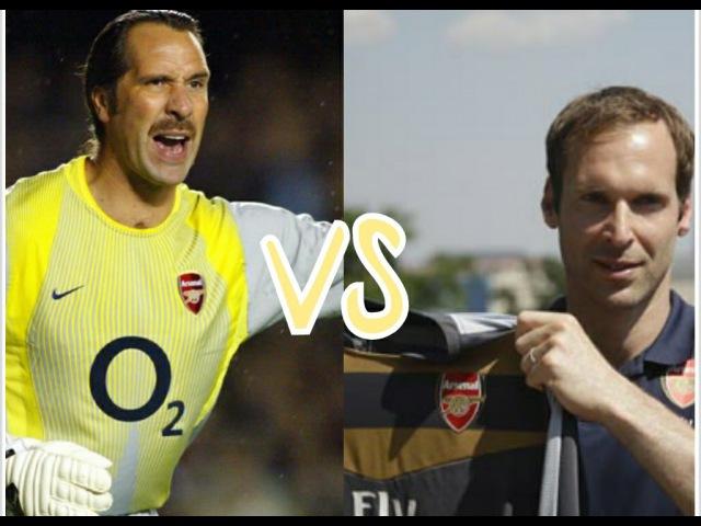 Petr Cech vs David Seaman⚫Best saves ever