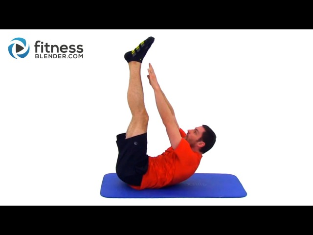 Quick At Home Abs Obliques Workout - Fitness Blender Core Workout for Toned Abs
