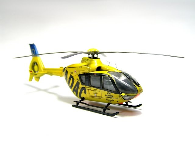 Revell 1/72 EC-135 Eurocopter Step by Step