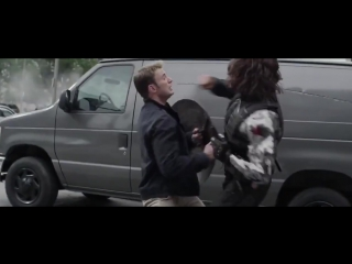 Captain America vs Winter Soldier   Капитан Америка против Зимнего Солдата