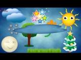 Первые слова для малыша в картинках, Учим слова для детей 1-3 года. Обучающее видео для детей