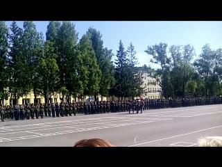 Вынос Знамени в/ч 3526 День части