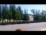 Вынос Знамени в/ч 3526 День части 30.6.2015