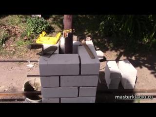 Кладка силикатного кирпича