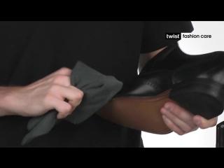 Крем для ухода за обувью из гладкой кожей Твист в банке